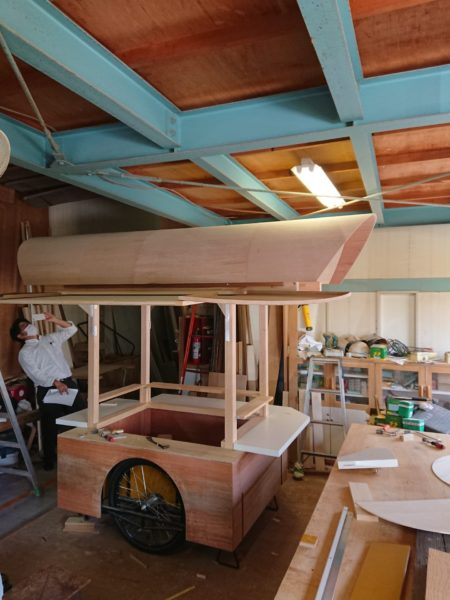 屋台と屋台囲い5